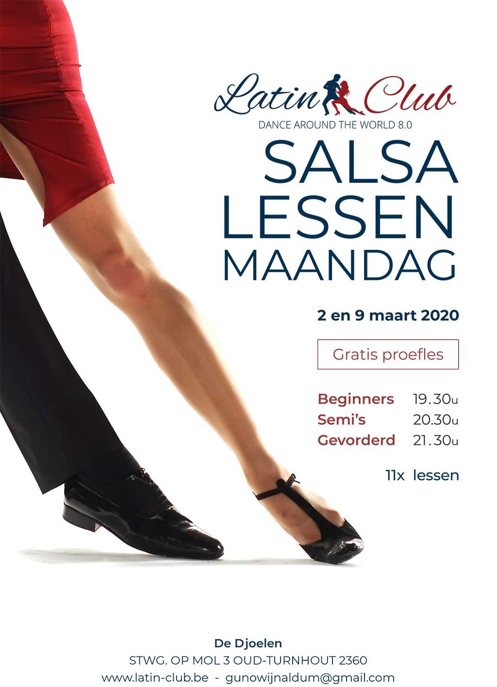 Salsa lessen 1